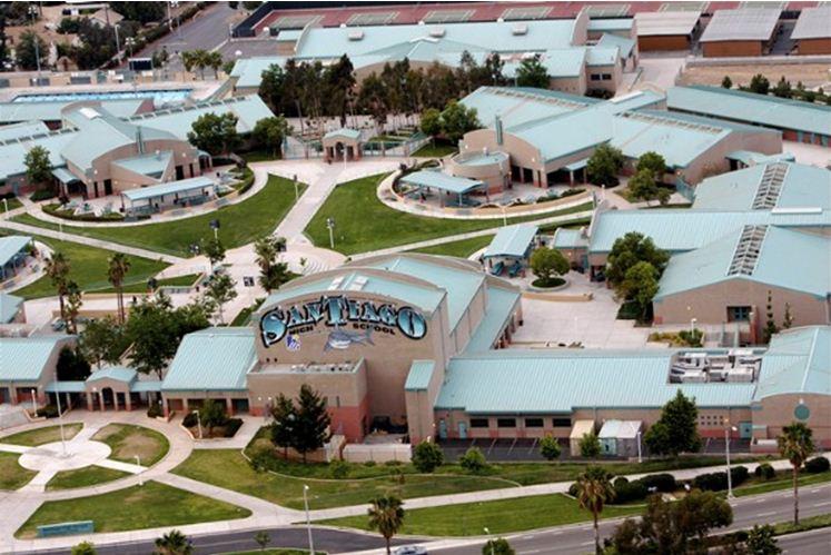 Santiago High School Home Page